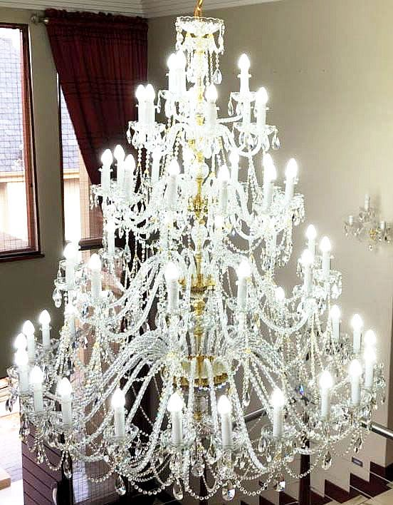 Chandeliers and Crystal